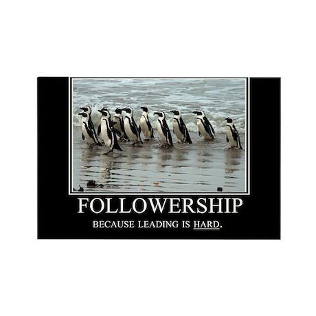 Followership Rectangle Magnet (10 pack)