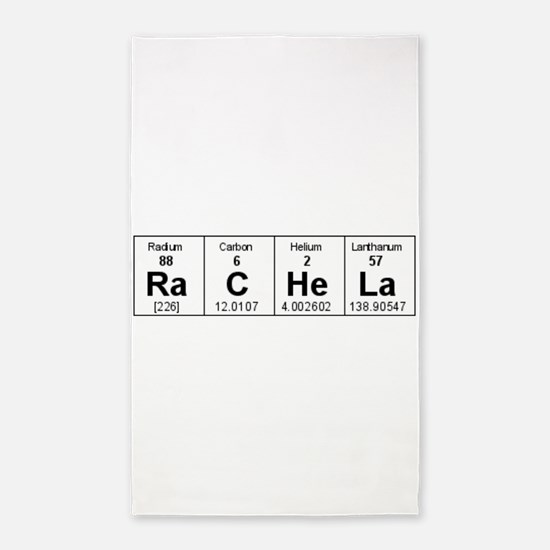 Periodic table Area Rug