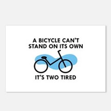 It's Two Tired Postcards (Package of 8)