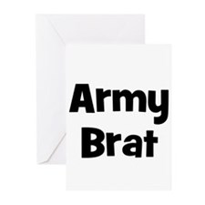 Army Brat Greeting Cards (Pk of 10)