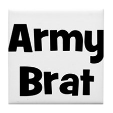 Army Brat Tile Coaster