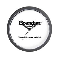 Brendan Version 1.0 Wall Clock