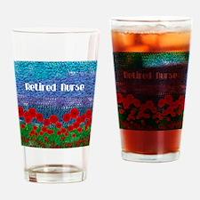 Poppy Field Drinking Glass
