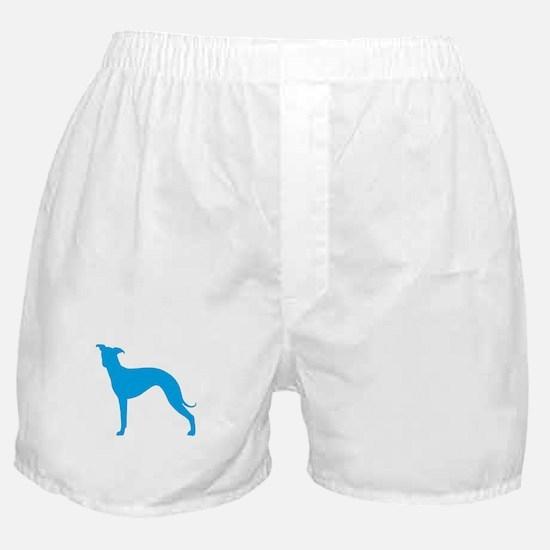 Greyhound Two Lt Blue 1 Boxer Shorts