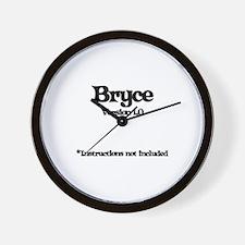Bryce Version 1.0 Wall Clock