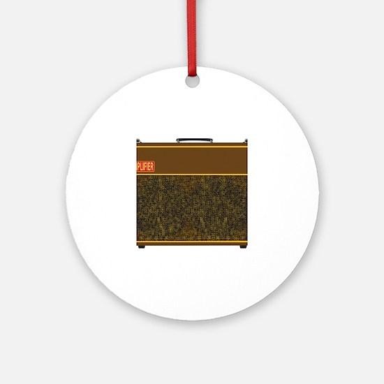 Cute Amplifier Round Ornament