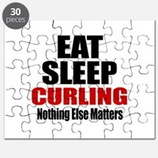 Eat Sleep Curling Puzzle