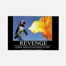 Revenge Rectangle Magnet