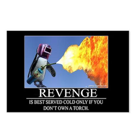 Revenge Postcards (Package of 8)