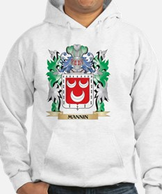 Mannin Coat of Arms - Family Cre Hoodie