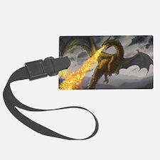 Dragon Spiting Fire Luggage Tag