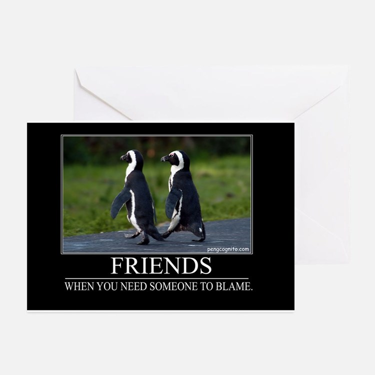 Friends Greeting Cards (Pk of 10)