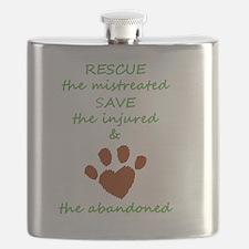 Unique Animal shelter Flask