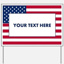 Create Your Own Political Yard Sign