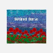 Poppy Field Throw Blanket