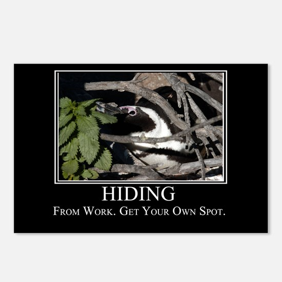 Hiding Postcards (Package of 8)