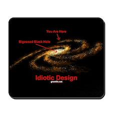 Idiotic Design Mousepad