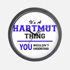 It's HARTMUT thing, you wouldn't unders Wall Clock
