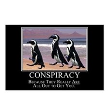 Conspiracy Postcards (Package of 8)