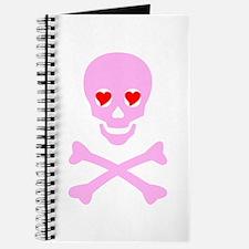 Pink Skull & Crossbones Journal
