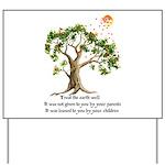 Kenyan Nature Proverb Yard Sign