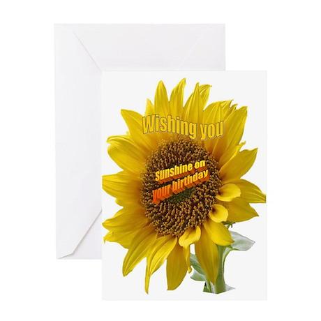 Greeting Card - SUNSHINE ON YOUR BIRTHDAY