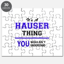 It's HAUSER thing, you wouldn't understand Puzzle