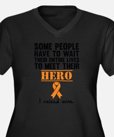Leukemia Hero Plus Size T-Shirt