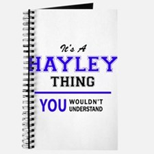 It's HAYLEY thing, you wouldn't understand Journal
