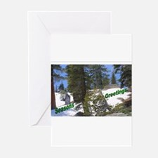 Funny Beach photo christmas Greeting Cards (Pk of 20)