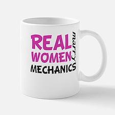 Real Women Marry Mechanics Mugs