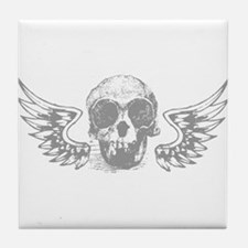 Winged Skull Tile Coaster