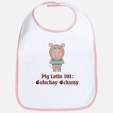 Pig Latin 101 Bib