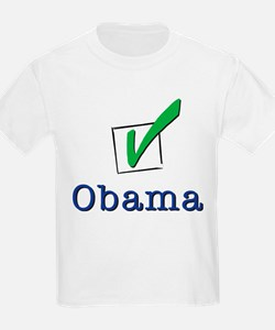 Obama Check Light T-Shirt