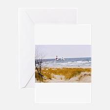 Unique Beach photo christmas Greeting Card