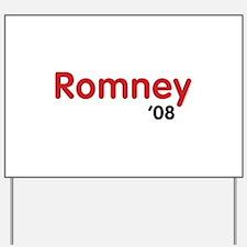 Romney 08 Light Yard Sign
