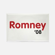Romney 08 Light Rectangle Magnet