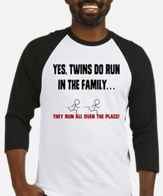 RUN IN THE FAMILY Baseball Jersey