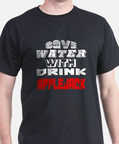 Save Water With Drink Applejack Desig T-Shirt