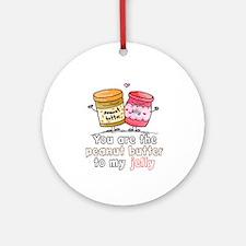 Cute Jelly Round Ornament
