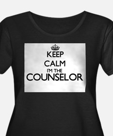Keep calm I'm the Counselor Plus Size T-Shirt