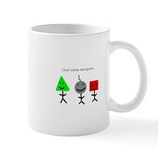 God loves everyone (Mug)