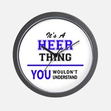 It's HEER thing, you wouldn't understan Wall Clock