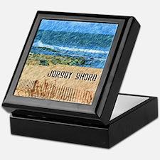 Cute Jersey shore Keepsake Box