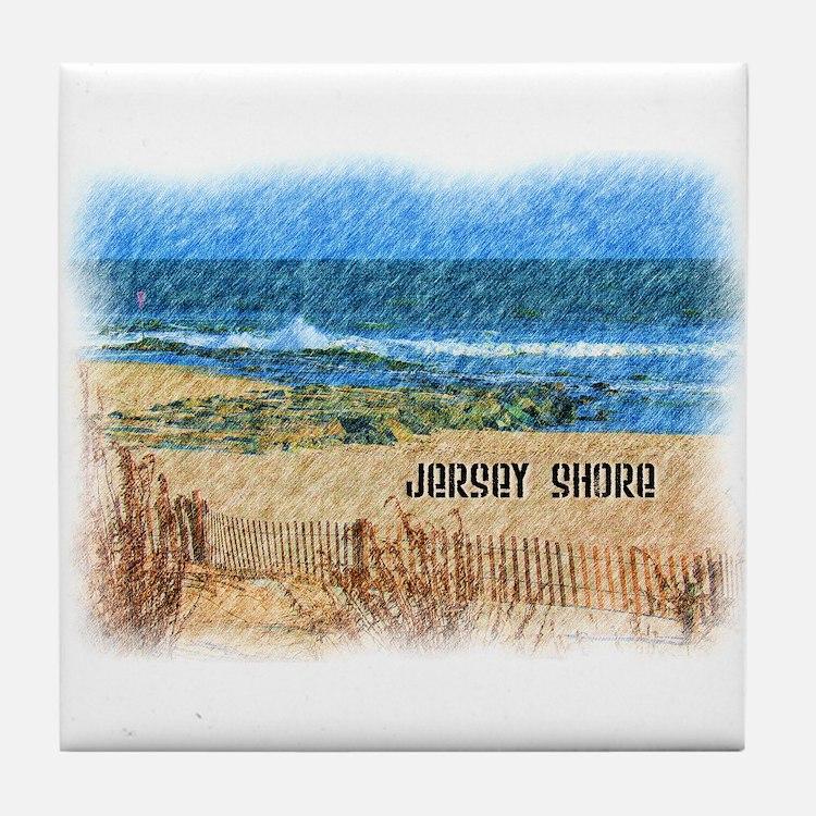 Cute Jersey Tile Coaster