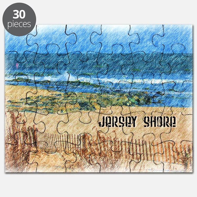 Cute Jersey shore Puzzle