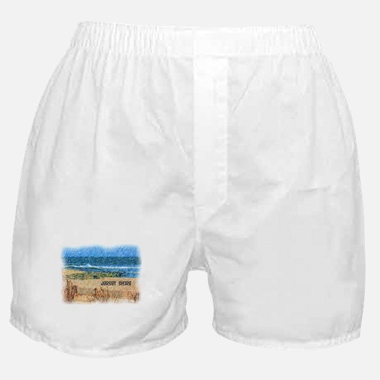 Jersey Shore NJ Beach Boxer Shorts