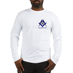 Masonic Scorpio Long Sleeve T-Shirt