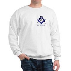 Masonic Scorpio Sweatshirt