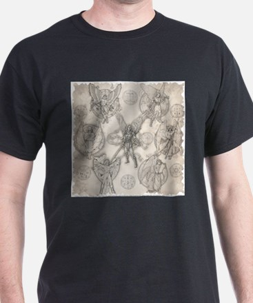 7 Archangels Tan T-Shirt